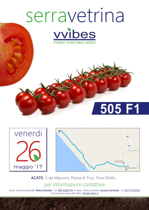 VVIBES: greenhouse tomato showcase